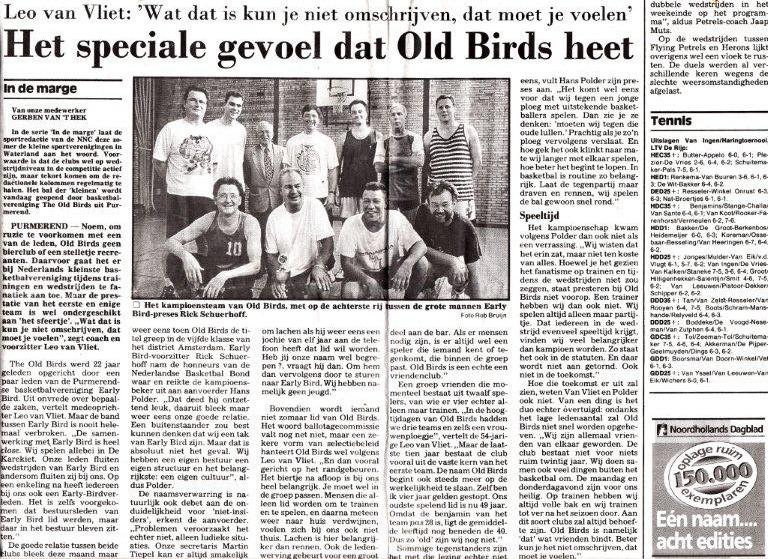 old birds in het nieuws